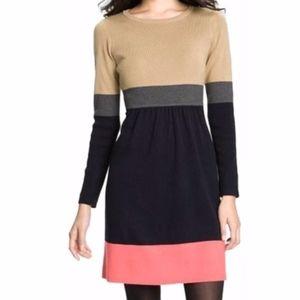 Eliza J Colorblock Sweater Dress Size XSP